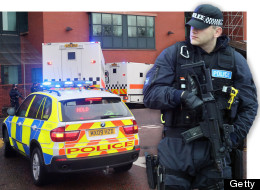150 Police And Armed Guards Surround Dale Cregan Trial