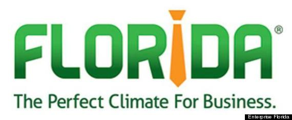florida perfect climate for business sexist logo