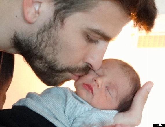 Photo de Milan le fils de Shakira et Pique