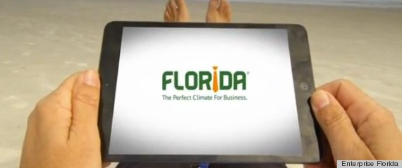 FLORIDA SEXIST LOGO PERFECT CLIMATE FOR BUSINESS