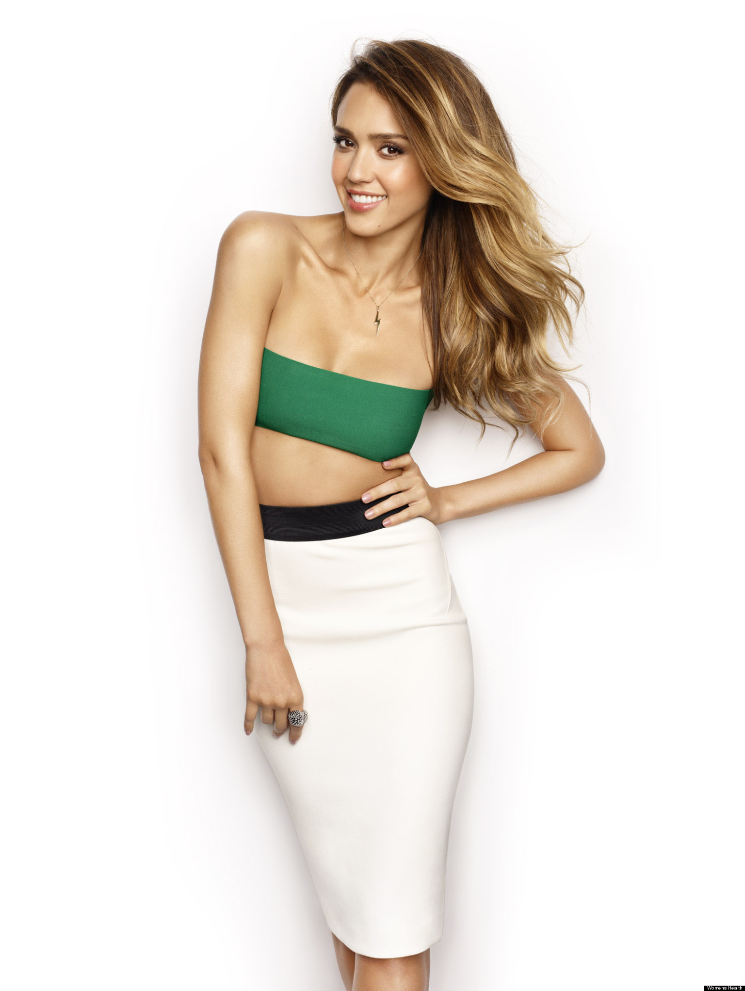Jessica Alba's Sexy Women's Health Cover: Actress Reveals ...