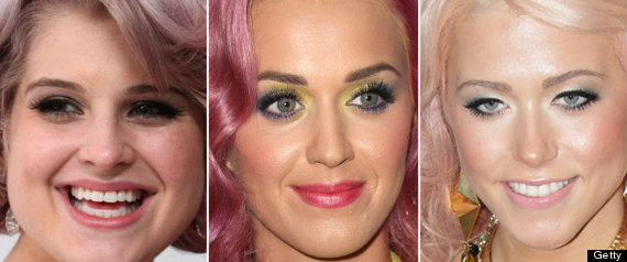 Celebs With Pink Hair