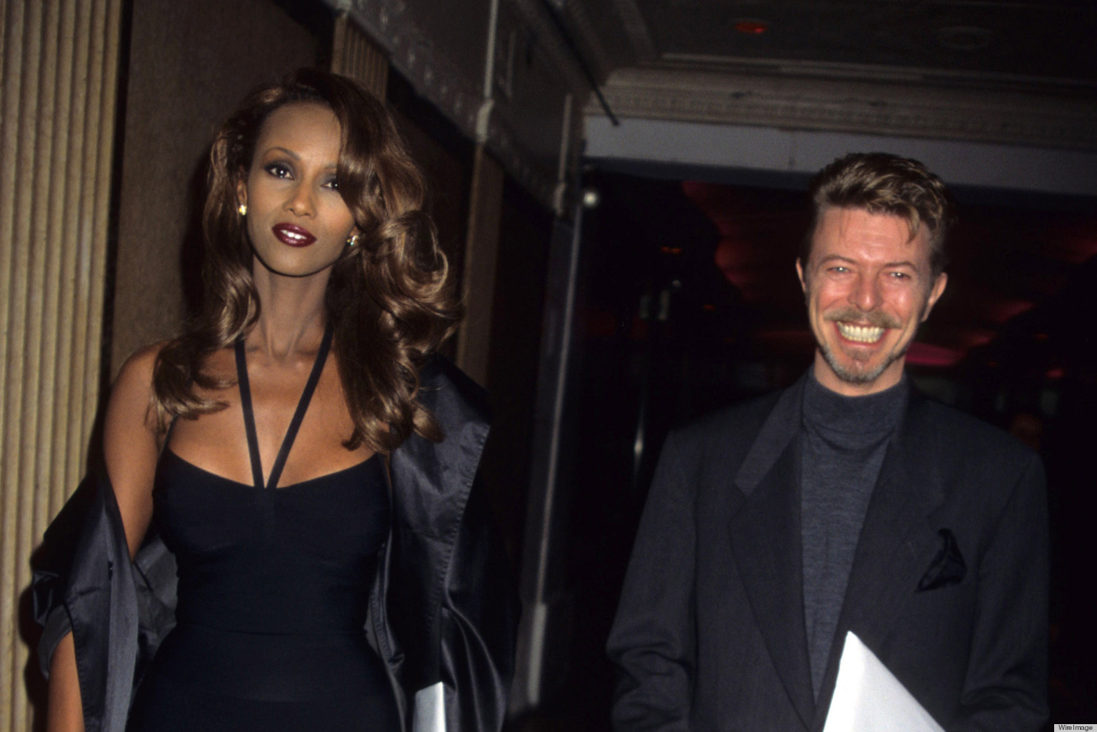 david bowie and iman have the perfect valentines day