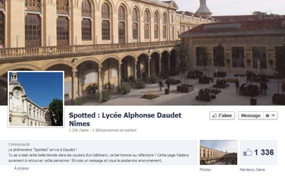 spotted lycée daudet