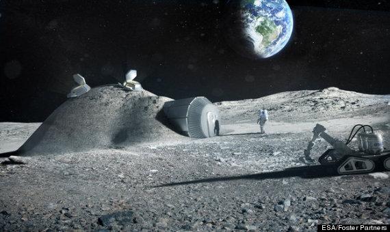 moon base radiation - photo #7