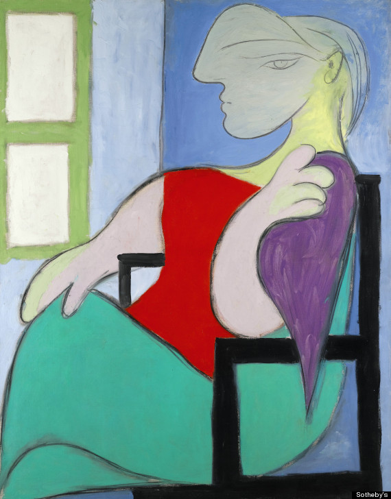 Picasso Portrait Of Marie Therese Walter Sells For Millions At ...
