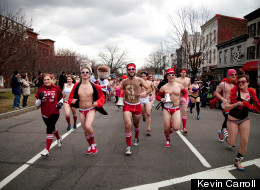 LOOK: The World's Largest Underwear Race!