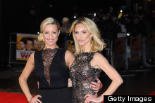 Glamour Girls: Denise Van Outen And Sarah Harding Both Wow At Run For Your Wife Premiere