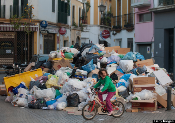 seville waste strike