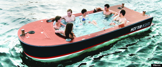 travel hot tub boat