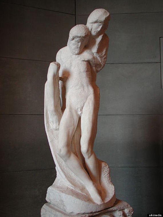 michelangelo sculpture jail