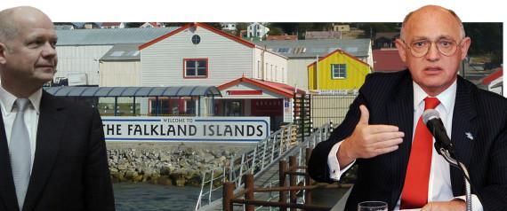 FALKLANDS ISLAND ROW