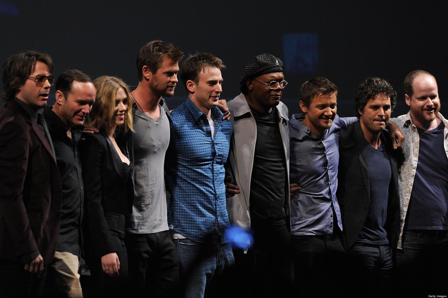 'The Avengers' At Oscars: Robert Downey Jr. & Cast Heading ...