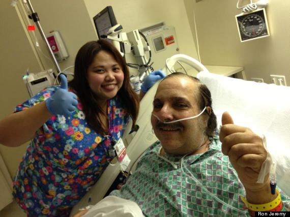 ron jeremy recovering
