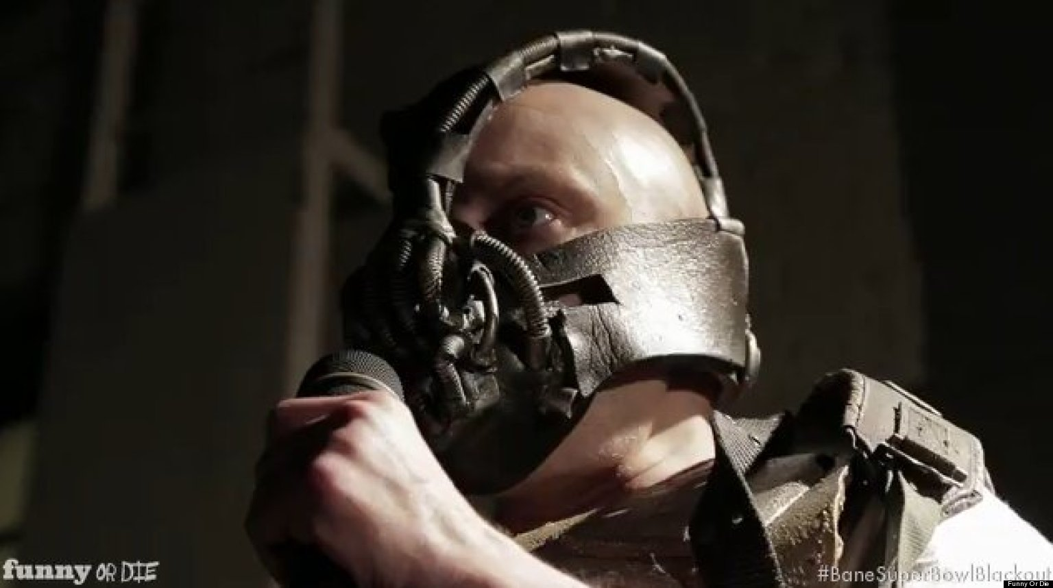 Bane Caused Super Bowl Blackout According To Funny Or Die (VIDEO)Obamacare Funny