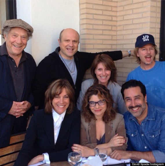 Just Shoot Me' Reunion: Cast Assembles For Lunch (PHOTO
