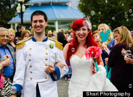 LOOK: The Most Detailed Disney Wedding Ever