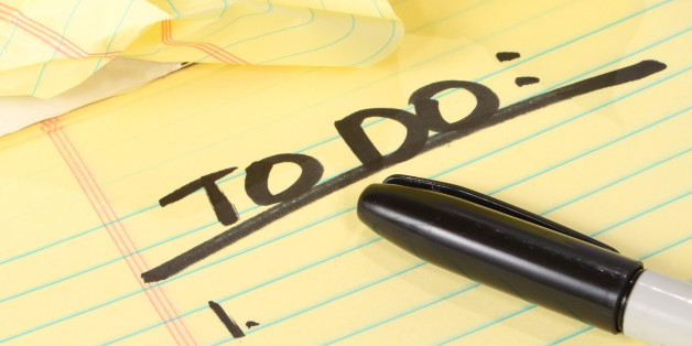 Make a List, You'll Feel Better | The Huffington Post