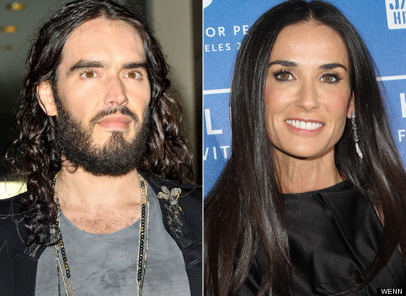 russell brand demi moore