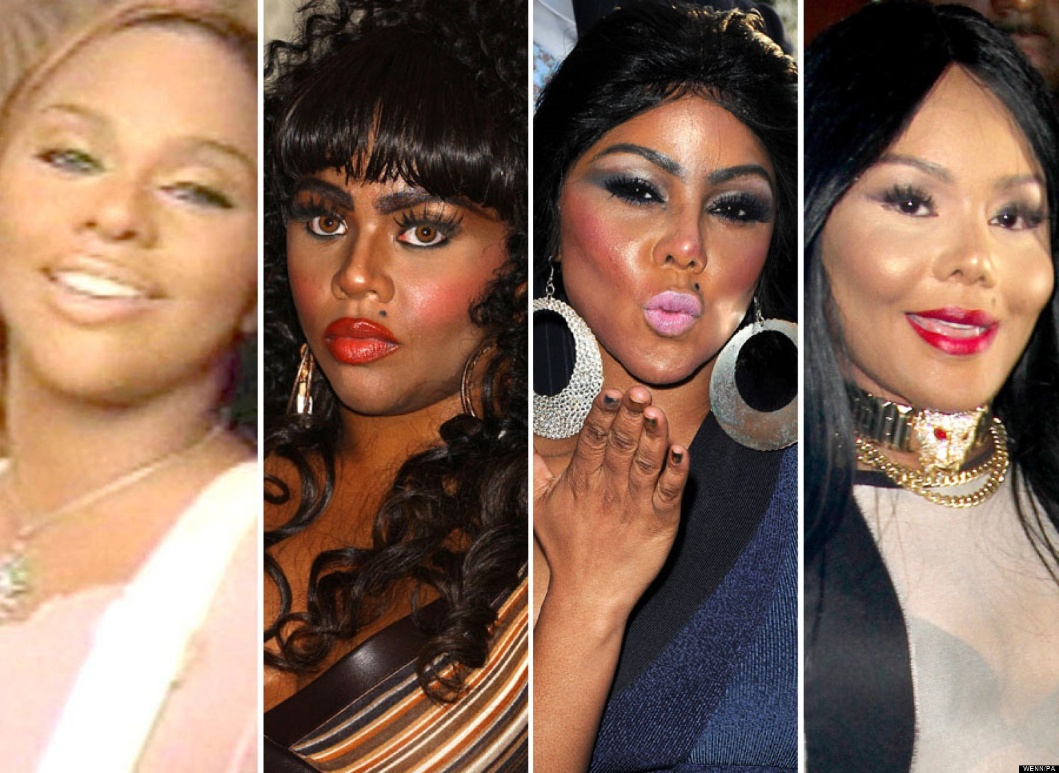 Lil Kim Surgery The Ever Changing Face Of Pictures