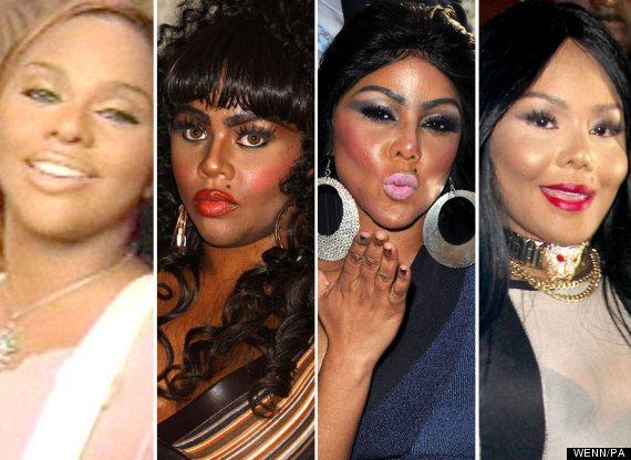 lil kim faces