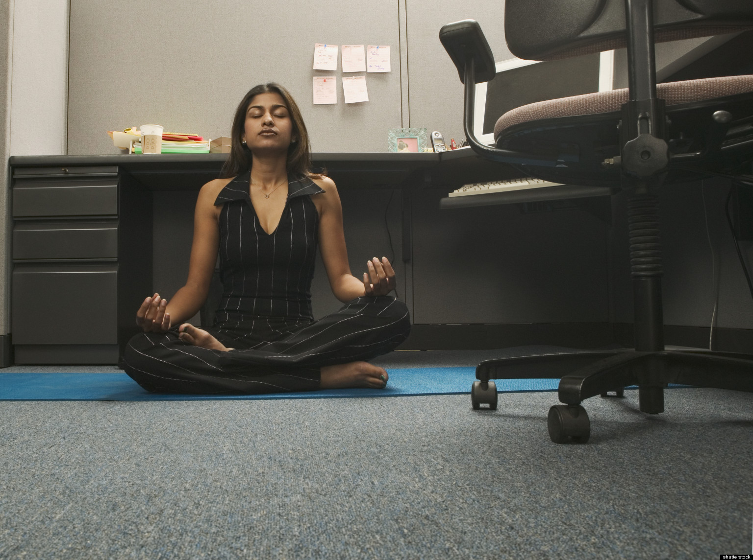 Stressed At Your Desk? 4 Mental Exercises To Practice At Work