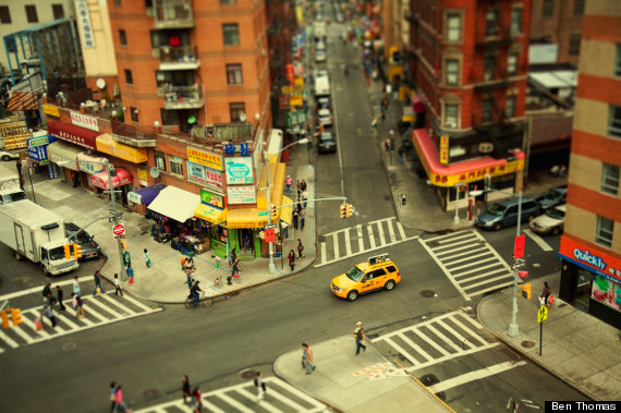 Pictures Of Toy Models Of Cities : Ben thomas cityshrinker series tilt shift photography