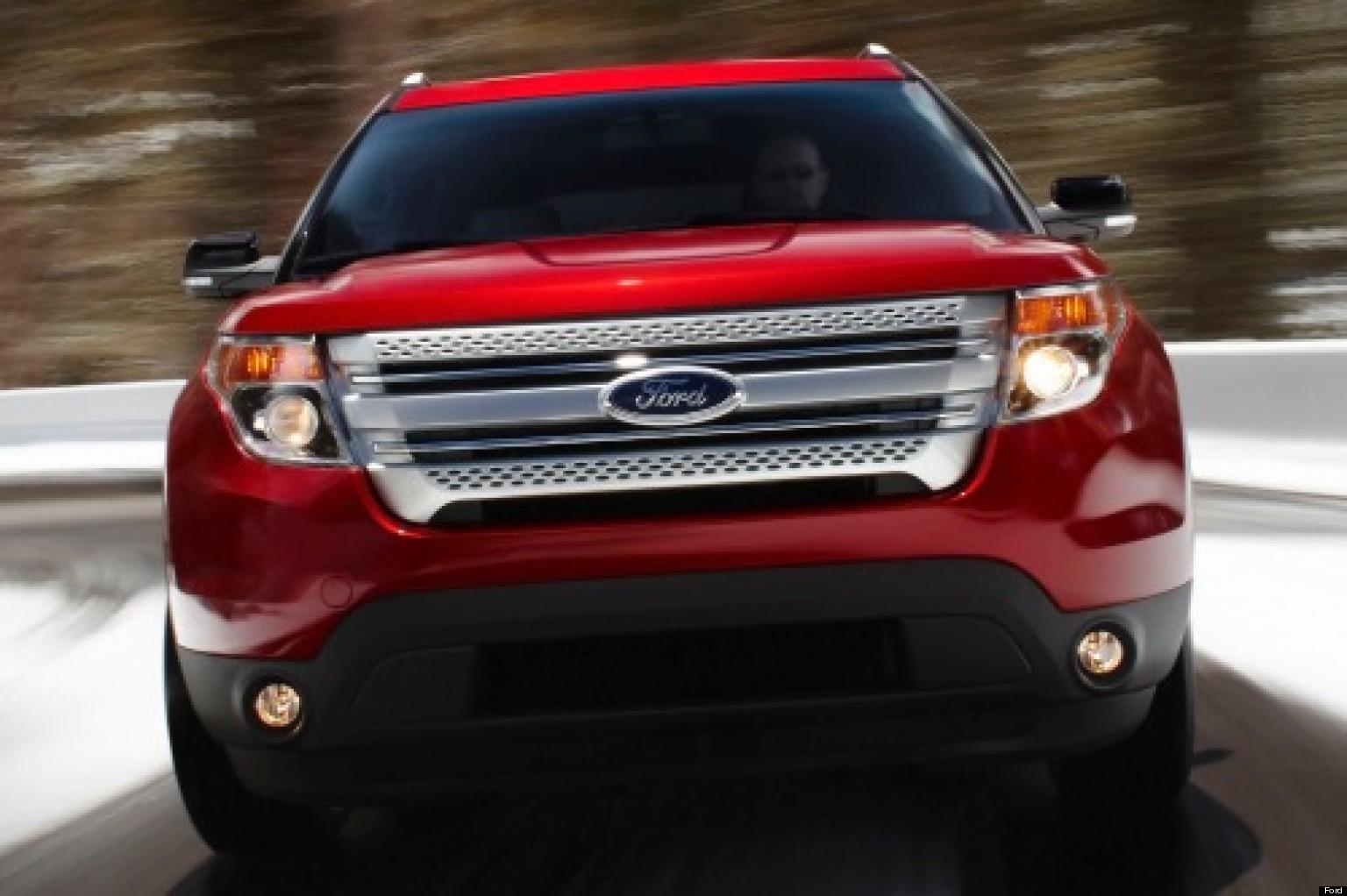 La Ford Explorer 2013 Eficiencia Y Elegancia En Uno