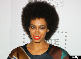 Solange Steps Out In Stripes For ESSENCE Event