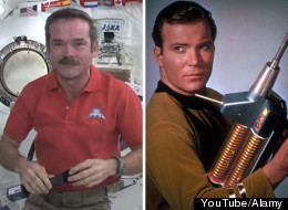 Chris Hadfield William Shatner