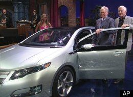 Letterman Chevy Volt
