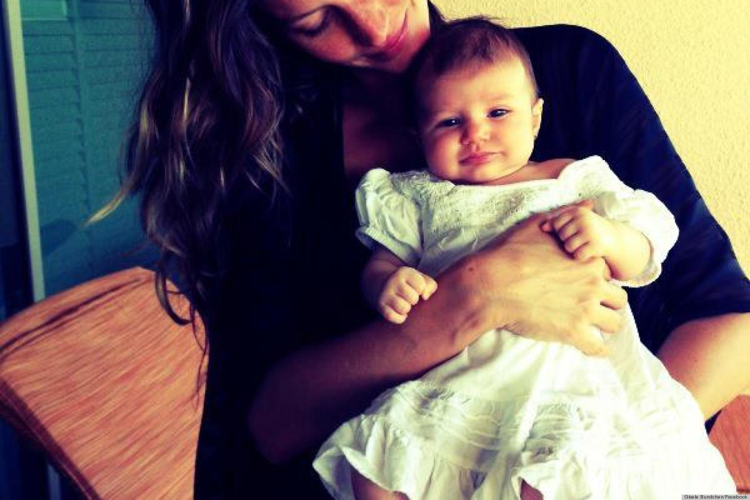 See The First Photo Of Gisele And Tom Brady's Daugher!