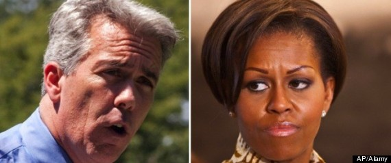 Joe Walsh Michelle Obama Funeral