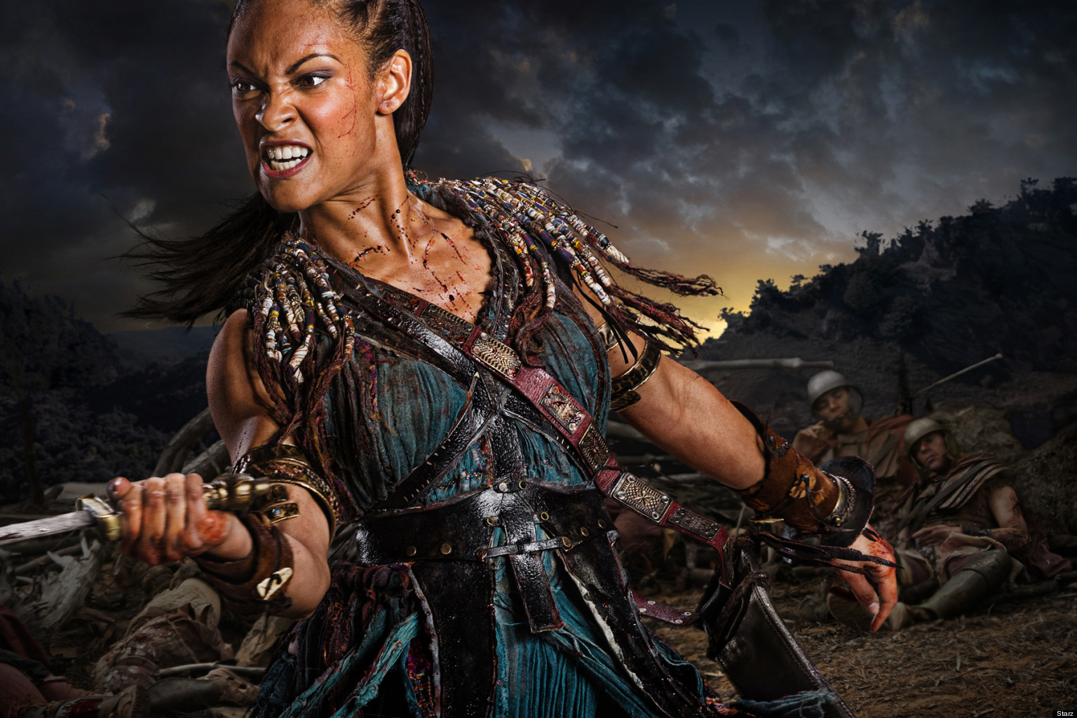 spartacus war of the damned behind naevias journey
