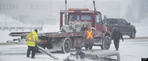 Ontario Snowstorm Montreal Travel Delays