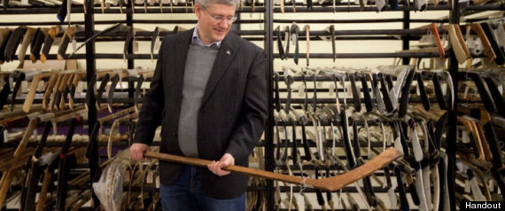 Stephen Harper Hockey Book