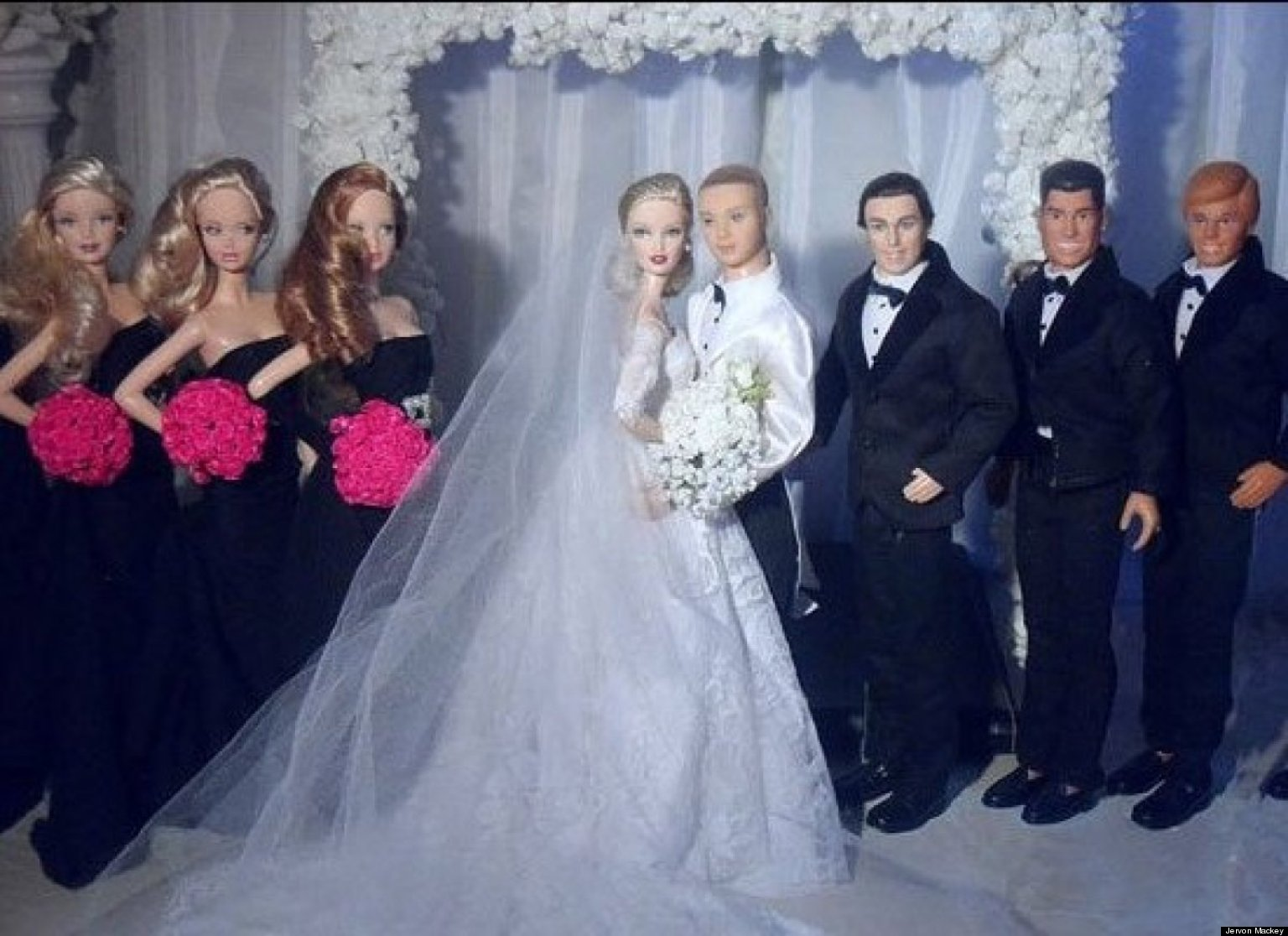Barbie Dream Weddings Come To Life Huffpost