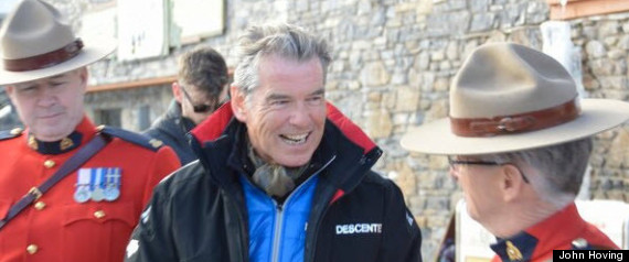 Pierce Brosnan Banff Waterkeeper
