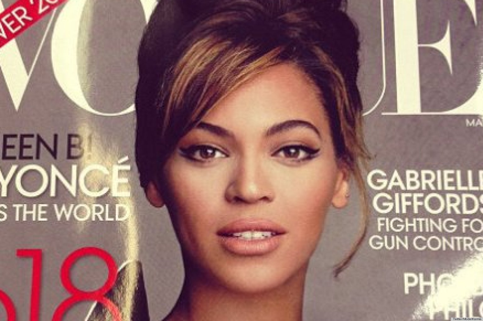 PHOTOS: Beyonce's Vogue March 2013 Cover Has Leaked!