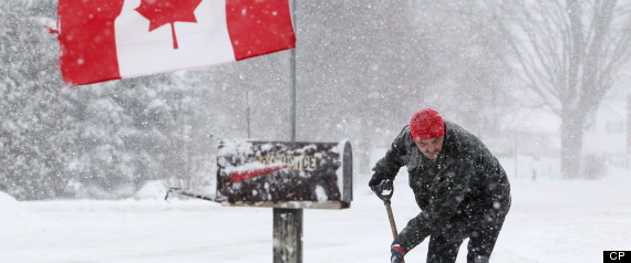 NEWFOUNDLAND SNOWSTORM