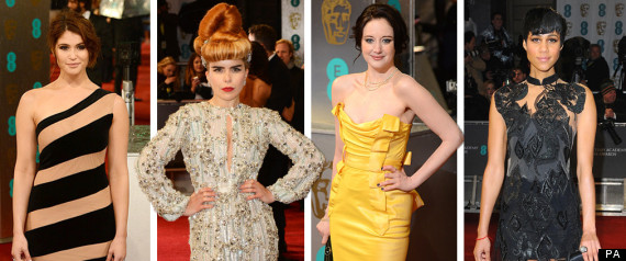 baftas 2013 best and worst dressed