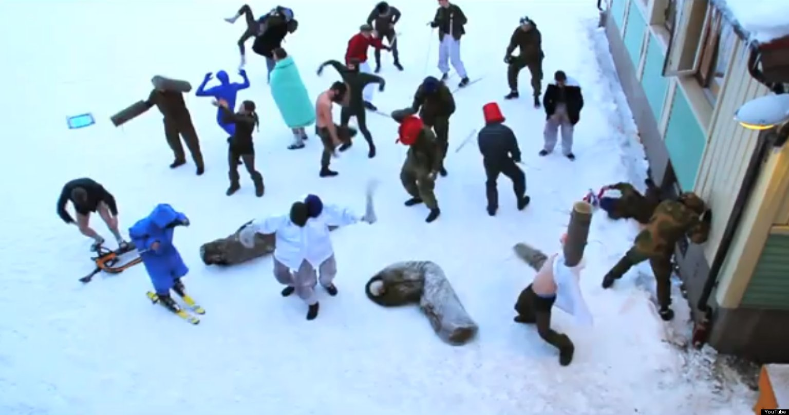 Army Harlem Shake Video: Norway Soldiers' Moves Go Viral ...