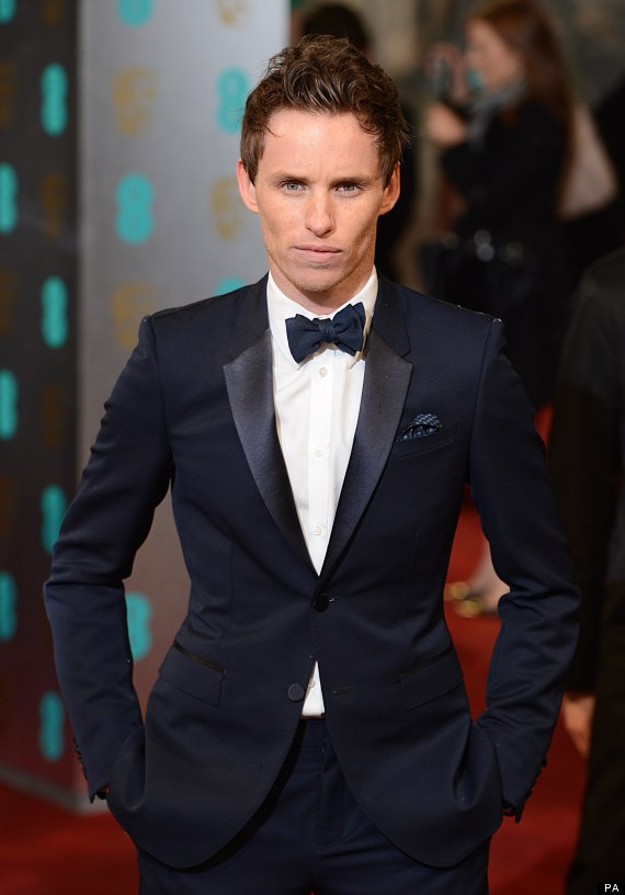 Eddie Redmayne on the red carpet - was he already feeling it Eddie Redmayne