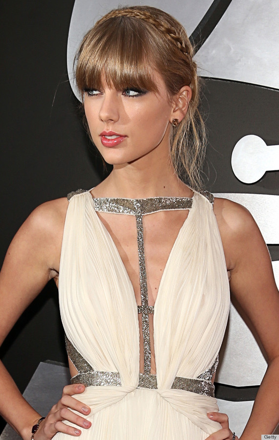 taylor swift grammys dress 2013