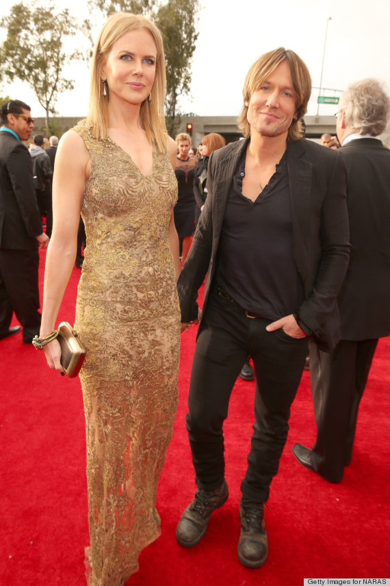 Nicole Kidman S Grammys Dress 2013 Is Gorgeous And Gold