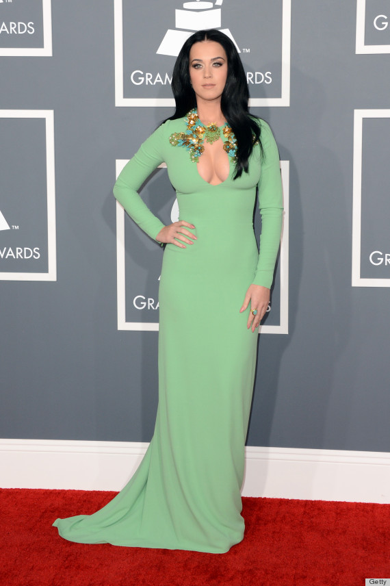 katy perry grammys dress 2013