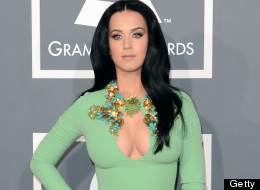 Katy Perry Shows Major Skin At Grammys 2013