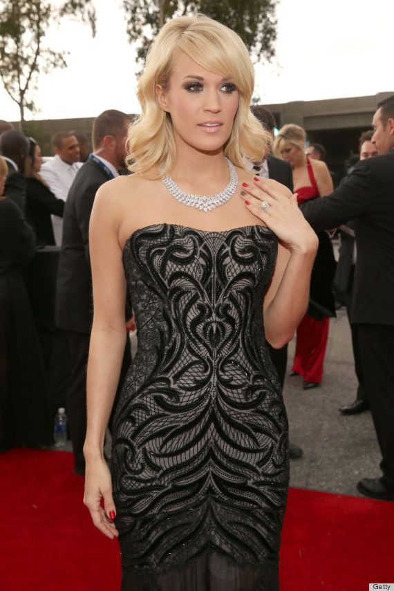 carrie underwood grammys dress 2013