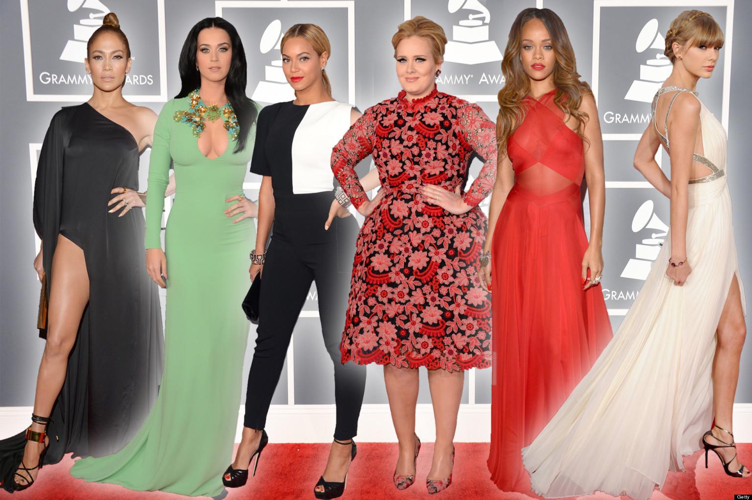 Grammys: Grammys 2013: Red Carpet (PICTURES)