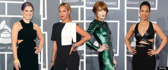 GRAMMYS 2013 BEST AND WORST DRESSED